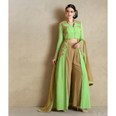 Sutva Beige And Gree...