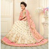 Craftsvilla Bangalori Silk Lehenga Choli With Un-stitched Blouse