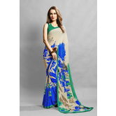 Craftsvilla Multicolor Crepe Printed Casual Saree