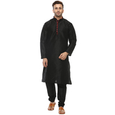 Craftsvilla Black Color Embellished Kurta Pyjama