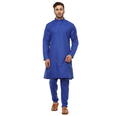 Craftsvilla Blue Color Embellished Kurta Pyjama