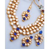 Craftsvilla Gold Plated Ethnic Traditional Necklace Set With Maang Tikka