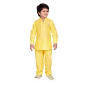 Craftsvilla Yellow Color Pathani Suit For Boys