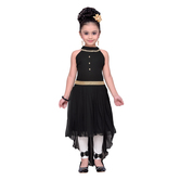 Craftsvilla Black Color Dress For Girls