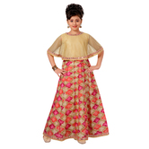 Craftsvilla Pink Color Dress For Girls