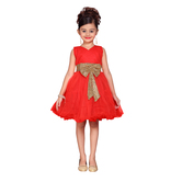 Craftsvilla Red Color Frock For Girls