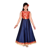 Craftsvilla Blue Color Gown For Girls