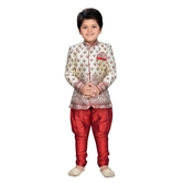 Craftsvilla Maroon Color Sherwani For Boys