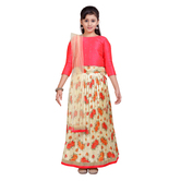Craftsvilla Pink Color Lehenga Choli For Girls