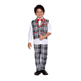 Craftsvilla Grey Color Suit Set For Boys