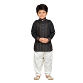 Craftsvilla Black Color Pathani Suit For Boys