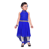 Craftsvilla Blue Color Dress For Girls