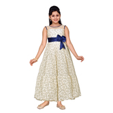 Craftsvilla Yellow Color Gown For Girls