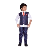 Craftsvilla Red And Blue Color Suit Set For Boys