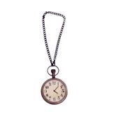 Antique Look Elegant Brass And Glass Precision Quartz Pocket Watch 203 With Chain Diwali Gift