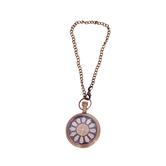 Antique Look Elegant Brass And Glass Wind Up Pocket Watch 201-w With Chain Diwali Gift