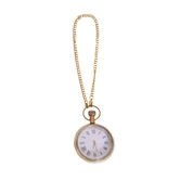 Antique Look Elegant Brass And Glass Wind Up Pocket Watch 205-w With Chain Diwali Gift