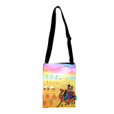 Small Indian Art Camel Cotton Sling Bag