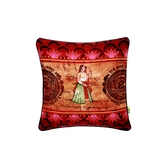Indian Queen Cushion Cover