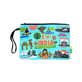 Big India Cotton Pouch
