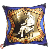 Craftsvilla Raja Of Rajastani Digital Print Poly Velvet Cushion Cover