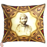 Craftsvilla Royal Rajastani King Digital Print Poly Velvet Cushion Covers