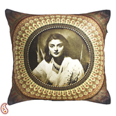 Craftsvilla Rani Gayaithri Devi Digital Print Poly Velvet Cushion Covers