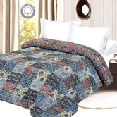 Craftsvilla Cozy And Soft Contemporary Print Double Bed Quilt