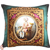 Craftsvilla Digital Print Poly Velvet Cushion Covers Of Raja Of Rajastani