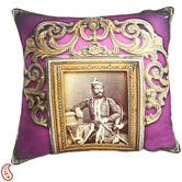 Craftsvilla Rajas Of Rajastani Digital Print Poly Velvet Cushion Covers