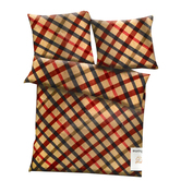 Craftsvilla Multicolor Polyester Checkered Print Double Bed Ac Quilt