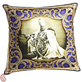 Craftsvilla Royals Of Rajastani Digital Print Poly Velvet Cushion Covers