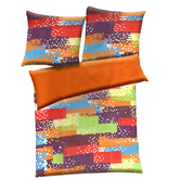 Multicolor Polyester Abstract Print Single Bed  Ac Quilt