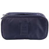 Charming Navy Blue Multi Utility Travel Pouch Bag