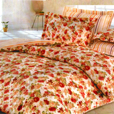 Craftsvilla Multicolor Polyester Floral Print Single Bed  Ac Quilt