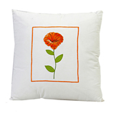 Craftsvilla Cotton Decorative Cushion Cover With Floral Print And Filler