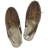 Brown Upper And Lace Authentic Half Kolhapuri Shoe For Men