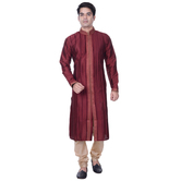 Sanwara Men\'s Maroo...