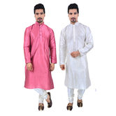 Sanwara Men\'s Solid...