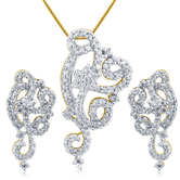 Inaya American Diamond Pendant Are Sure To Drop The Jaws Of Many Onlookers