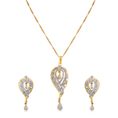 Inaya Must - Have Unique White Limited Edition American Diamond Pendant