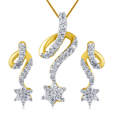 Inaya Must - Have Unique Limited Edition American Diamond Pendant