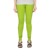 Minu   Premium Light Green  Womens  Leggings