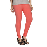 Minu   Premium Peach Pink  Womens  Leggings