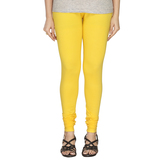 Minu   Premium Yellow  Womens  Leggings