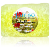 Puriso Handcrafted Soaps - Tender Blossom Bathing Bar-150g