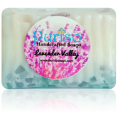 Puriso Handcrafted Soaps - Lavender Valley Bathing Bar-150g