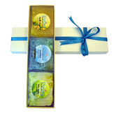 Puriso Handcrafted Soaps- Gift Box Of 3 (150g Each)