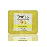 Puriso Handcrafted Soaps - Loofah & Limebathing Bar-100g