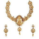 Divine Being Glorious Jewel Set - Necklaces By Crunchyfashion